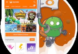دانلود آخرین ورژن مارکت آپتوید Aptoide 8.3.1.1