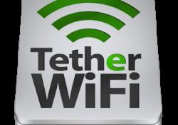 دانلود برنامه تبدیل گوشی به روتر وای فای WiFi Tether Router