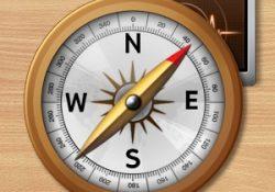دانلود قطب نما، قبله نما و فلزیاب اندروید Smart Compass Pro